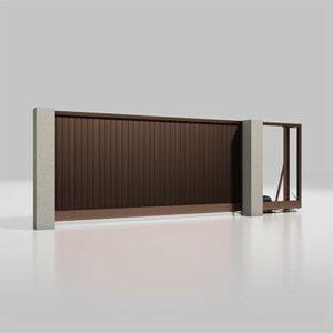 Автоматичні відкатні ворота серії Alutech Prestige 4000х2000мм