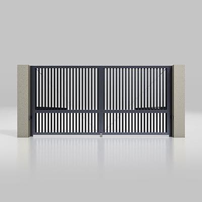 Автоматические распашные ворота серии Prestige Размеры ворот 4000х2000мм