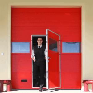 Промислові ворота Alutech ProTrend 2875х3000мм