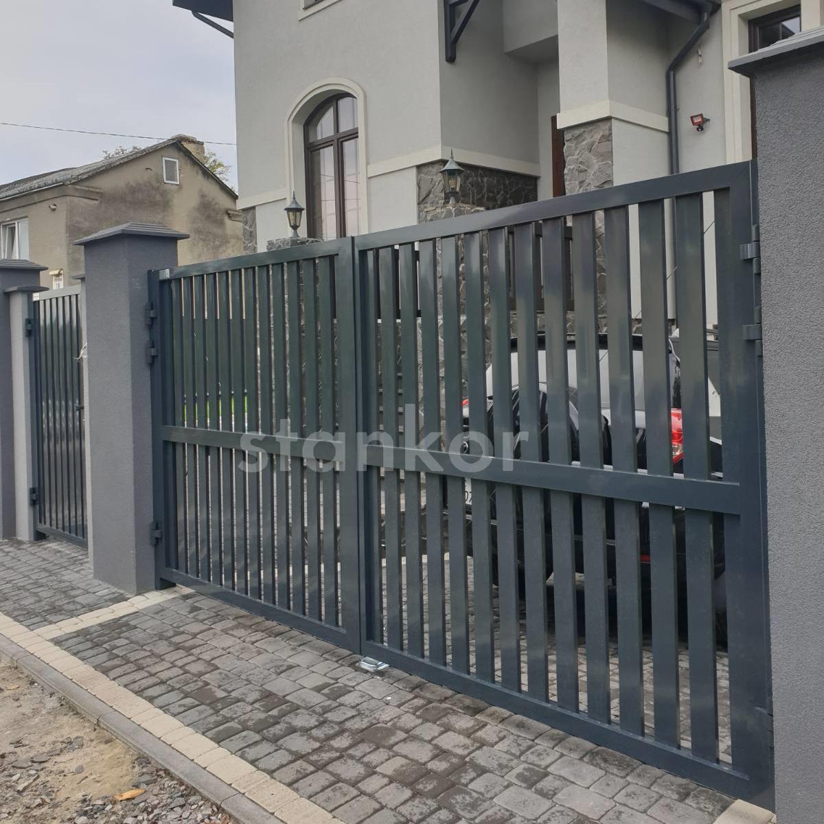вїзні ворота Alutech prestige